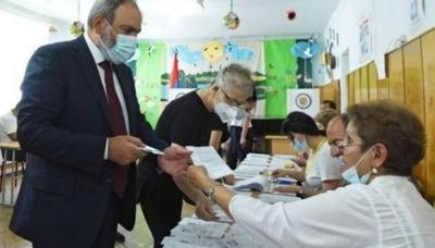 Αρμενία: Με ποσοστό 58% ο Pashninyan νικητής των πρόωρων βουλευτικών εκλογών