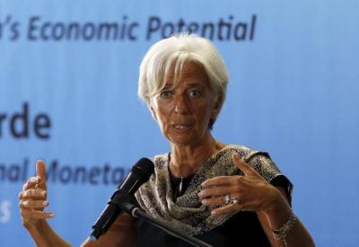 Lagarde: Η παγκόσμια οικονομία αναπτύσσεται αλλά οι κίνδυνοι αυξάνονται