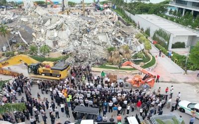 Κατάρρευση κτιρίου στη Φλόριντα: Στους 60 ανήλθε ο αριθμός των νεκρών