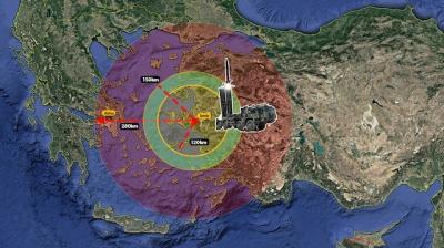 Σενάρια πολέμου από Yeni Safak: Οι τουρκικοί πύραυλοι μπορούν να χτυπήσουν την Αθήνα -  Αποστολάκης: Πανέτοιμες οι Ένοπλες Δυνάμεις