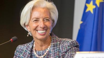 Lagarde (ΕΚΤ): Σε κίνδυνο η ανάκαμψη της ευρωζώνης λόγω των μεταλλάξεων του κορωνοϊού