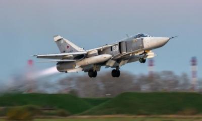 Συρία: Ρωσικά αεροσκάφη βομβάρδισαν στόχους κοντά στα σύνορα με την Τουρκία