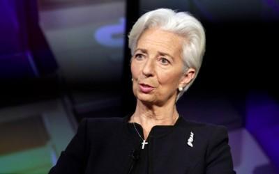 Lagarde (ΕΚΤ): Πρωτοφανής η συρρίκνωση της οικονομίας στην ΕΕ στο -13% στο β΄ τρίμηνο 2020 και αύξηση +5,2% το 2021 - Πρόωρη η πρόταση για bad bank