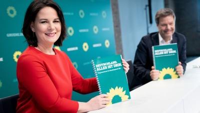 Γερμανία - δημοσκόπηση: Για πρώτη φορά προηγούνται οι Πράσινοι με 28%, δεύτερο το CDU/CSU με 21%