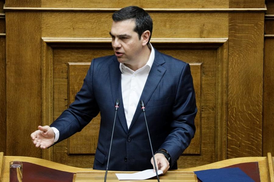 Σφοδρή επίθεση Τσίπρα στον πρωθυπουργό: Στο εδώλιο κάθεται ο Μητσοτάκης, όχι ο Παππάς