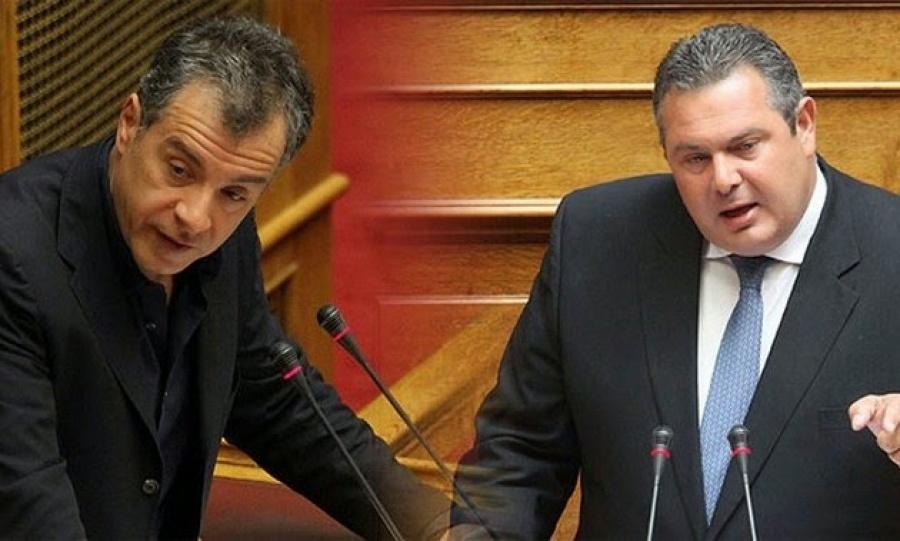«Διχασμός» σε Ποτάμι και ΑΝΕΛ για τη Συμφωνία των Πρεσπών - Σκέψεις (;) Καμμένου να μη δώσει ψήφο εμπιστοσύνης στον Τσίπρα