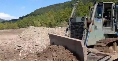 Συνδρομή του Στρατού Ξηράς στην αποκατάσταση περιοχών οι οποίες επλήγησαν από τον Κυκλώνα «Ιανός»