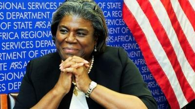 Η Linda Thomas Greenfield είναι η νέα πρέσβειρα των ΗΠΑ στον ΟΗΕ