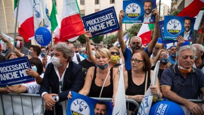 Ιταλία: Απρόβλεπτες περιφερειακές εκλογές και δημοψήφισμα στις 20-21/9 - Τεστ για τη Lega