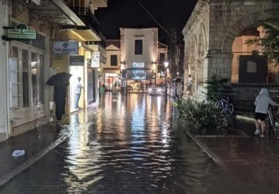Σφοδρή κακοκαιρία στην Κρήτη - Κλείνει το αεροδρόμιο «Ν. Καζαντζάκης»