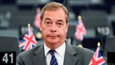Farage (Βρετανία): Ο πόλεμος του Brexit τελείωσε, ικανοποίηση για την εμπορική συμφωνία