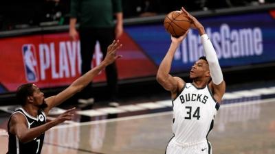 Nets – Bucks 115-107: Ολομόναχος ο Αντετοκούνμπο και 1-0 για το Brooklyn (video)
