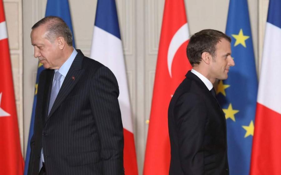 Erdogan εναντίον Macron: Χρειάζεται ψυχοθεραπεία, τι πρόβλημα έχει με τους Μουσουλμάνους