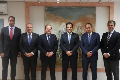 Διυπουργική σύσκεψη στο Υπουργείο Ανάπτυξης και Επενδύσεων για την ανάπτυξη δικτύου των υδροπλάνων