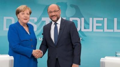 Γερμανία: Το SPD συμφωνεί να ξεκινήσουν οι συνομιλίες με Merkel