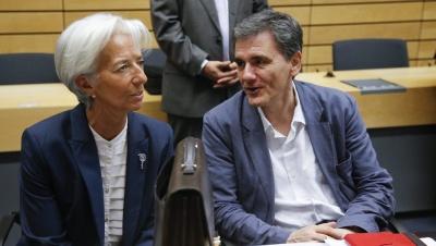 Κρίσιμο τετ α τετ  Lagarde - Τσακαλώτου - Στο επίκεντρο χρέος και αξιολόγηση