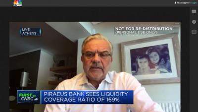 Μεγάλου (CEO Πειραιώς) στο CNBC: Τα μέτρα στήριξης ανέκοψαν την αύξηση των NPLs - Δυναμική ανάκαμψη το 2021