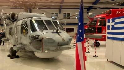 Παραδόθηκε το πρώτο αναβαθμισμένο ελικόπτερο Aegean Hawk S - 70 του Πολεμικού Ναυτικού