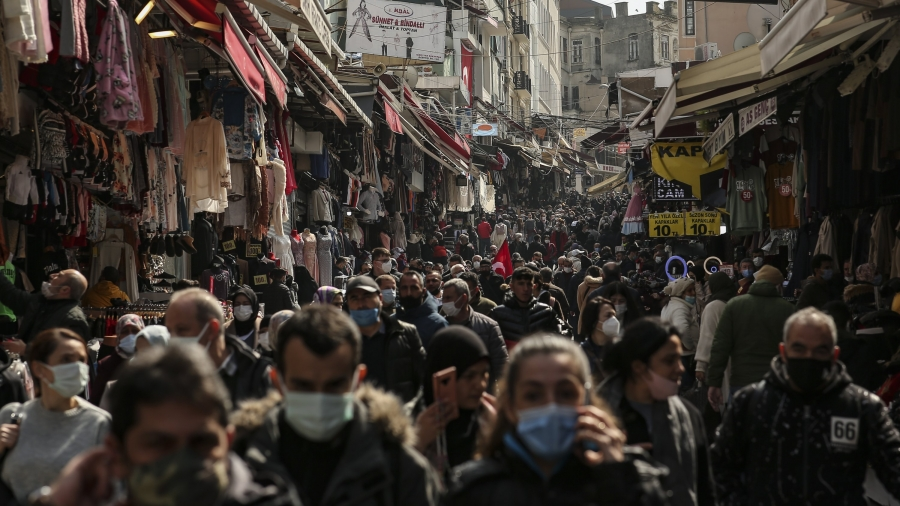 Τουρκία - Στο 12,9% αυξήθηκε η ανεργία το α' 3μηνο του 2021