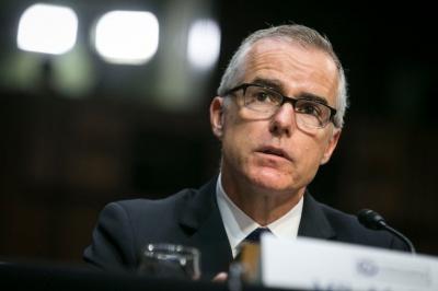 «Έφαγε» και τον Andrew McCabe, υποδιευθυντή του FBI ο Donald Trump