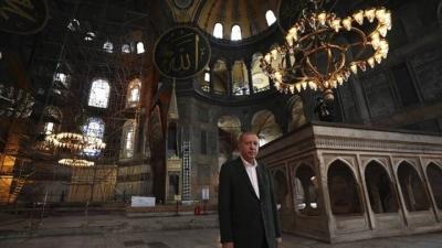 Τουρκία: Με προσευχή στην Αγία Σοφία ξεκίνησε το Ραμαζάνι