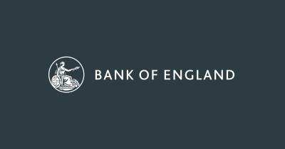 Διακόπτει τις διευκολύνσεις σε ευρώ η Bank of England, από τέλη Σεπτεμβρίου 2021