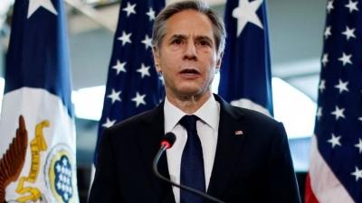 Blinken (ΗΠΑ): Δεν υπάρχουν ενδείξεις συμμόρφωσης και προόδου του Ιράν στις πυρηνικές δεσμεύσεις ώστε να αρθούν οι κυρώσεις