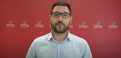 Ηλιόπουλος (ΣΥΡΙΖΑ): Η κυβέρνηση μετατρέπει την υγειονομική κρίση σε κρίση Δημοκρατίας