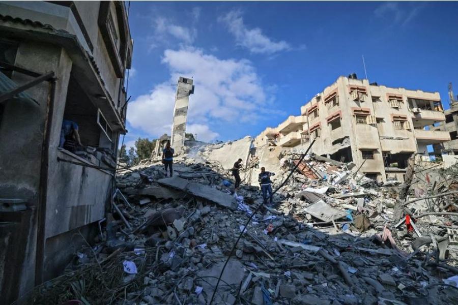 Κατάπαυση πυρός μετά από 11 ημέρες μάχης Ισραήλ – Hamas – Biden: Χρειαζόμαστε μια λύση δύο κρατών