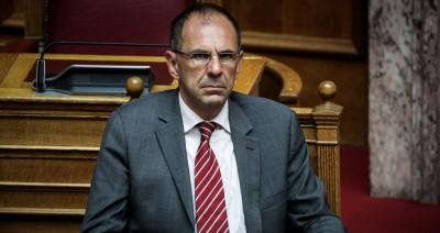 Γεραπετρίτης (υπ.Επικρατείας): Καμία συζήτηση με την Τουρκία όσο υπάρχει στρατιωτική πίεση