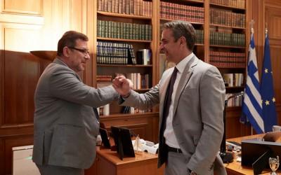 Τηλεφωνική επικοινωνία Μητσοτάκη με τον CEO της Pfizer, Albert Burla