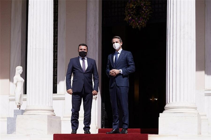 Μητσοτάκης σε Zaev: Αυτές είναι οι προϋποθέσεις για την ευρωπαϊκή προοπτική της Βόρειας Μακεδονίας
