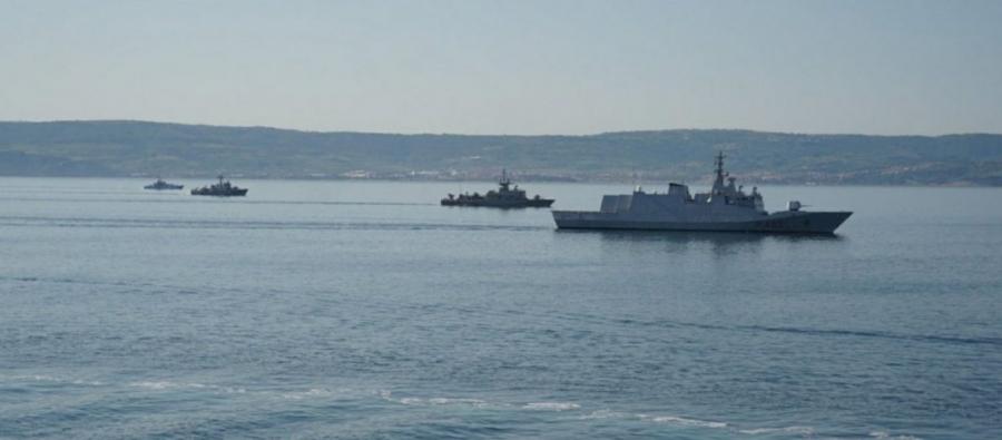 Το Πολεμικό Ναυτικό συμμετείχε στην πολυεθνική άσκηση «Adrion Livex 2021»