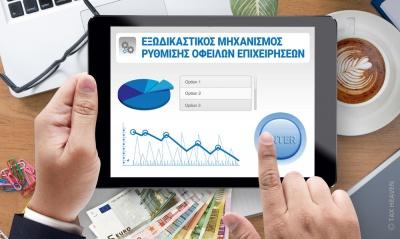 Εξωδικαστικός μηχανισμός: Συνολικά 3.003 αιτήσεις σε ένα χρόνο – Ρύθμιση χρεών 213 επιχειρήσεων και ελεύθερων επιχειρηματιών