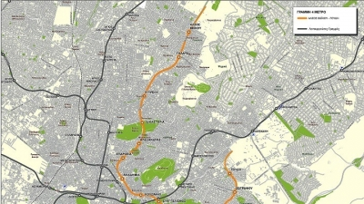 Εργοτάξια και έναρξη των πρόδρομων εργασιών για τη γραμμή 4 του μετρό