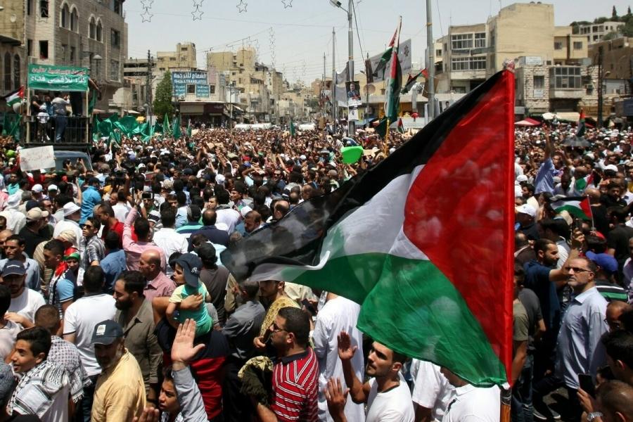 Ιορδανία: Εκατοντάδες διαδηλωτές ζήτησαν να κλείσει η ισραηλινή πρεσβεία στο Αμάν