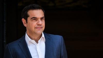 Συνάντηση Τσίπρα στις Βρυξέλλες με ευρωβουλευτές του ΣΥΡΙΖΑ-Προοδευτική Συμμαχία