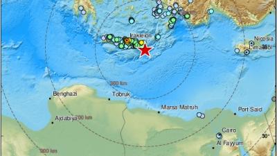 Ισχυρός σεισμός 6,3 Ρίχτερ στη Κρήτη, αισθητός μέχρι την Κύπρο - Επιφυλακτικοί οι σεισμολόγοι, αναμένουν ισχυρό μετασεισμό
