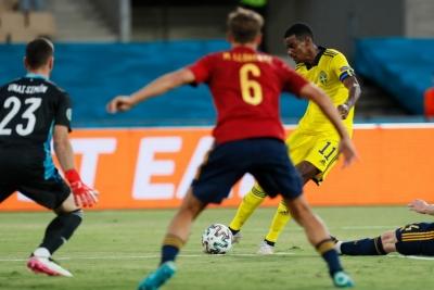 Ισπανία – Σουηδία: Γιορέντε και… δοκάρι στέρησαν το γκολ σε Ίσακ (video)