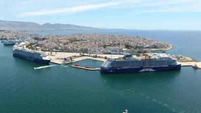 ΟΛΠ: Ο Πειραιάς υποδέχτηκε το πρώτο κρουαζιερόπλοιο της σεζόν