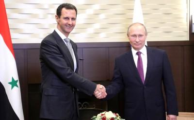 Συνομιλία Assad με Putin - Προτεραιότητα η επιστροφή των προσφύγων