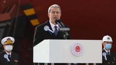 Akar: Η Ελλάδα να σεβαστεί τα τουρκικά δικαιώματα σε Αιγαίο και Αν. Μεσόγειο