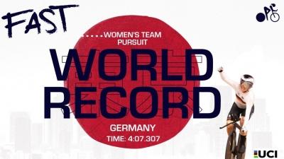 Ολυμπιακοί Αγώνες: Παγκόσμιο ρεκόρ στην ποδηλασία από τη Γερμανία!