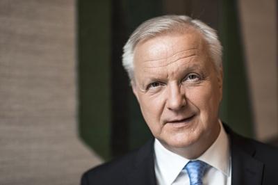 Rehn: Εάν χρειαστεί, η ΕΚΤ θα επαναφέρει το πρόγραμμα QE και θα μειώσει τα επιτόκια