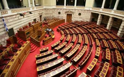 Βουλή: Στις 18 Δεκεμβρίου η ψήφιση του προϋπολογισμού 2019