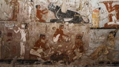 Σπουδαία αρχαιολογική ανακάλυψη στην Αίγυπτο – Βρέθηκε τάφος 4.440 χρόνων