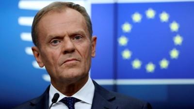 Tusk: Εκτός τόπου οι απειλές Erdogan για άνοιγμα συνόρων - Σταματήστε τις παράνομες ενέργειες στην κυπριακή ΑΟΖ