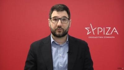 Ηλιόπουλος: Limit up χυδαιότητας από Μητσοτάκη – Δεν κατανοεί, δεν ντρέπεται