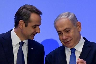 Μητσοτάκης - Netanyahu: Σημαντική η συνεργασία Ελλάδας - Ισραήλ στην Αν. Μεσόγειο - Πράσινο διαβατήριο για τους Ισραηλινούς