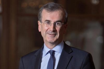 Villeroy (Τράπεζα της Γαλλίας): Η ΕΚΤ θα πρέπει να αποτρέψει την άνοδο των αποδόσεων στα ομόλογα του ευρώ